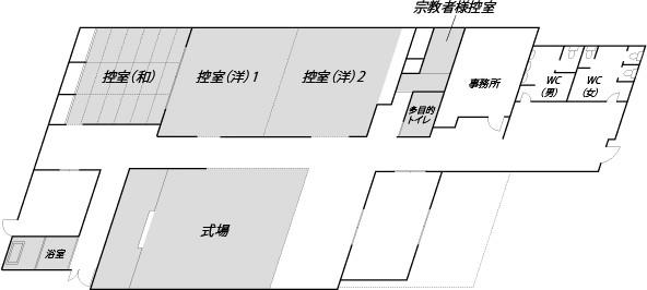 ファミリエ勇崎 館内図
